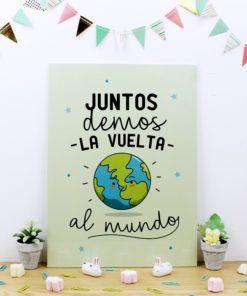 CUADRO DE TRUPAN CON DISEÑO PARA ENAMORADOS
