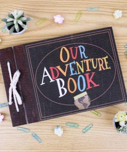 Album Our adventure book con diseño de la pelicula up