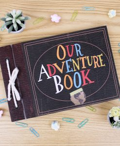 Album Our adventure book con diseño de la pelicula up