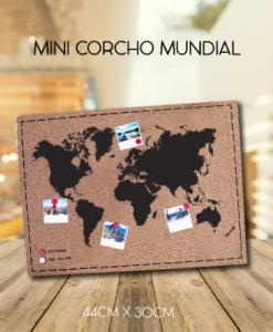 mini corcho mundial para decorar en espacios pequeños